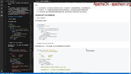 ApacheCN 机器学习实战 第14章 利用SVD简化数据【4.案例: 基于SVD的图像压缩】2017-09-08
