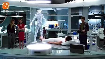 姑娘是机器人, 充上电就可以用了, 真的好高级啊