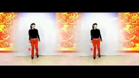 扇子广场舞《挂红灯》原创扇子舞