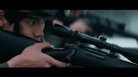 非常好看的电影日本大规模战争火并电影图书馆战争, 很震撼动作电影, 这枪战场面太刺激了