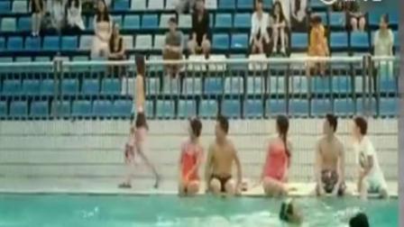 陈乔恩泳池秀身材 张翰看呆 电影既然青春留不住精彩片段