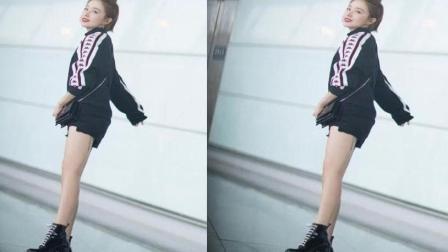 阚清子纪凌尘出席活动显最萌身高差, 不穿裤子的写真只有她能驾驭