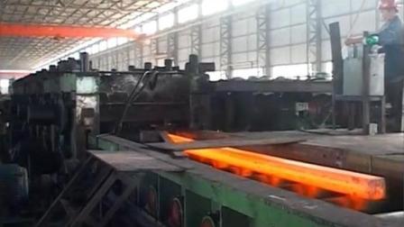 国内50万吨轧钢机多强大! 通红的钢坯转眼间制作成螺纹钢