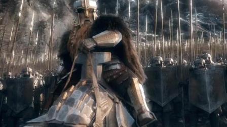 霍比特人3中最经典, 史诗级的一段战斗, 我才看了15遍