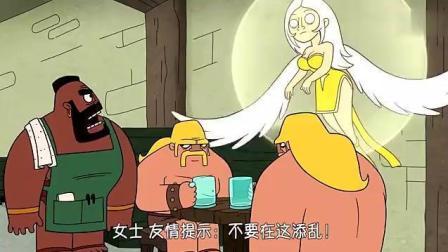 《部落冲突》动画: 建筑工人获得了神秘锤子, 砸到的东西会变宝石