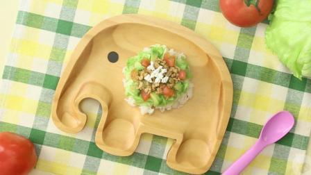 让12个月以上宝宝一眼爱上的鸡肉牛油果盖饭, 做法就这么简单