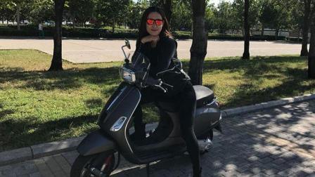 带女神入摩托圈的好选择 比亚乔VespaS150