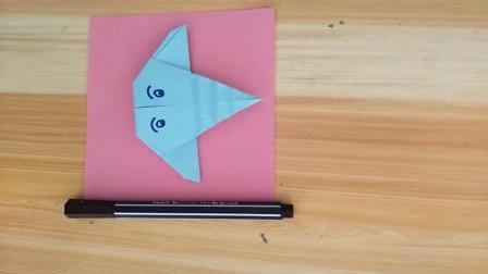 儿童折纸教学, 小象头像