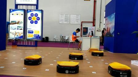 亚马逊物流机器人视频 仓储自动物流机器人分拣