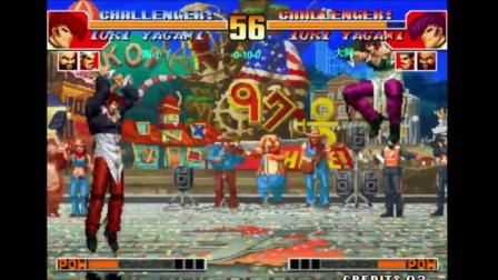 拳皇97 我感觉每次说没有晕的时候下一刻就打脸了 (2)