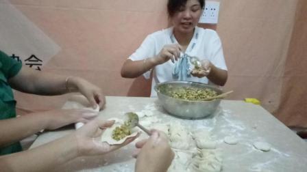 饺子皮的做法与窍门 浙江省宁波市江北区文教街道特产美食视频