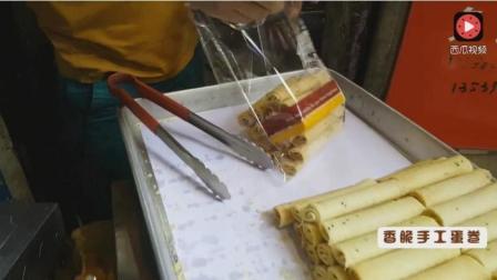 广州老西关传统美食之: 香脆手工蛋卷