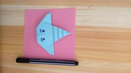 儿童折纸教学, 小象头像折纸教学