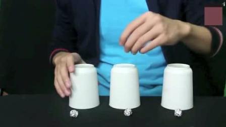 被这个魔术骗了十几年, 就是猜不中纸球在哪个杯子