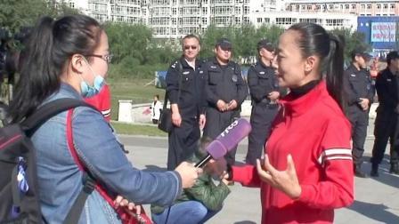 哈尔滨职工广播操大赛花絮