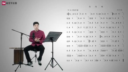 新爱琴从零开始学竹笛公益课程第四十五课  考级篇  《句句双》讲解