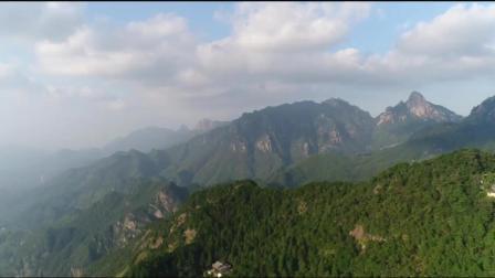 航拍《九华山》