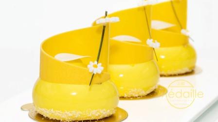 实拍法国高级甜点慕斯制作过程, 全程流口水!