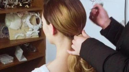 新娘头纱造型干花 文静发型师让你做最美新娘!