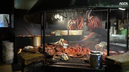 【街拍美食】美国德州奥斯丁狂野烤肉摊