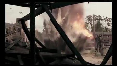 当一枚2吨重的航空炸弹, 在一个城市的要塞炸开的时候会怎样?