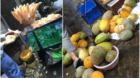 提醒! 路边摊切好的水果尽量别吃