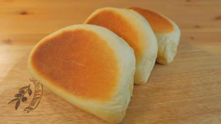 谁说没有烤箱就不能做面包, 用平底锅就可以煎出又松又软的包子, 太简单了, 就问你服不服