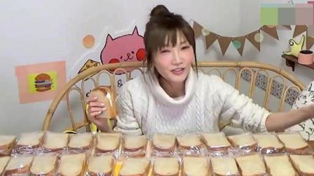 """""""木下佑香""""吃36个鲜奶油面包, 2升牛奶, 感叹吃出了幸福感"""