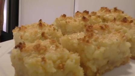 焦糖椰丝蛋糕的做法