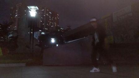 CY/小影 夜间拍摄9月 龙队鬼步舞