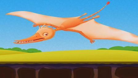 恐龙公园侏罗纪世界 挖掘恐龙化石发现翼龙霸王龙剑龙三角龙 恐龙考古 恐龙化石组装