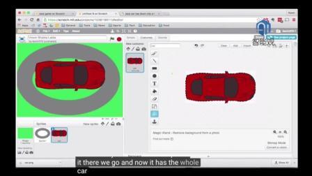 儿童编程: 用Scratch做一个赛车游戏