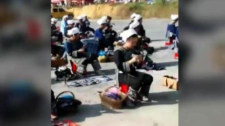 贵州 三都60周年 马尾绣比赛现场 国际奥委会杯 全国百城市自行车赛西南区 中和镇