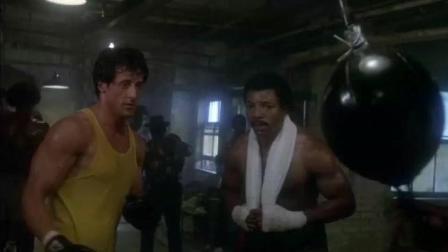 史泰龙最后和拳王激情相拥那一刻, 我和舍友都有种说不出的感觉