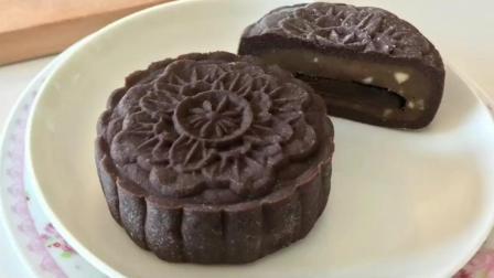 自己制作巧克力松露冰皮月饼, 中秋节自制月饼更爱吃