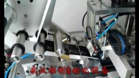 武汉拓利自动化--手机电池贴标机