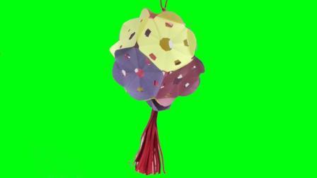 中秋节灯笼制作教程 简单的七彩灯笼好看有面子 亲子DIY手工折纸