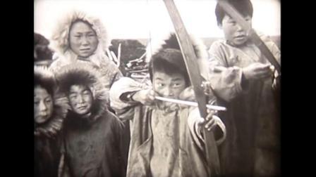 他们有着和中国人一样的脸! 看1940年爱斯基摩人半原始的渔猎生活