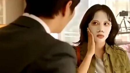 霸道总裁要把灰姑娘带去警察局, 撕掉她脸上的面膜后嘴巴都张大了