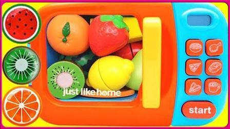神奇烤箱水果果冻啫喱玩具制作 亲子手工惊喜蛋扮家家玩具试玩 小猪佩奇 火影忍者