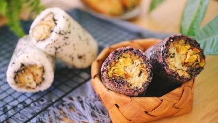 南方的糯米配上北方煎饼果子的做法, 销魂的搭配味道绝了!