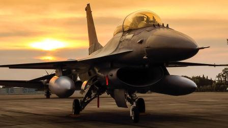 美国空军和波兰空军F-16战斗机-从波兰Krzesiny空军基地起飞