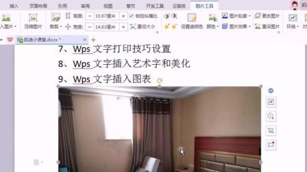 4、Wps文字插入图片和表格