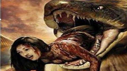 恐怖片《巨蟒惊魂》大学生在丛林中遭到巨蟒袭击
