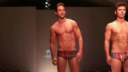 时尚视频: 性感男模走秀, 演绎泳装造型 (3)