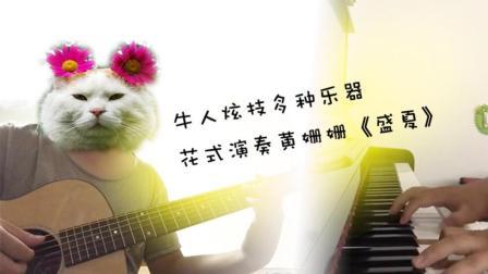 牛人炫技多种乐器花式演奏黄姗姗《盛夏》