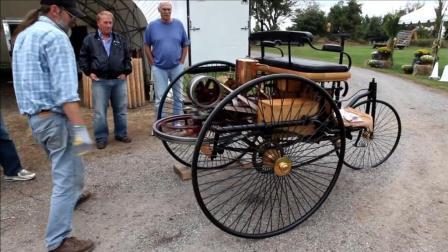 驾驶1886年原始款奔驰, 太炫酷拉风了
