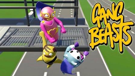 萌萌小人大乱斗 Gang Beasts - 非常有趣的搞笑摔角游戏
