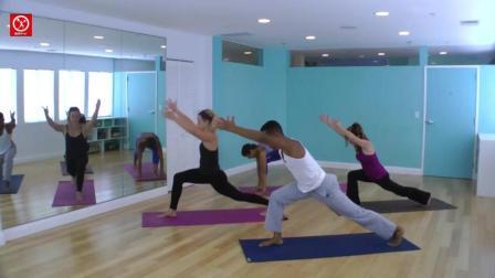 瑜伽视频教程之简易流瑜伽体式