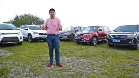中国品牌紧凑型SUV横评(下): 静态-闫闯说车